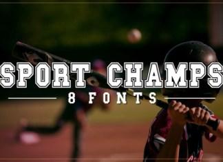 Sports Champs Font