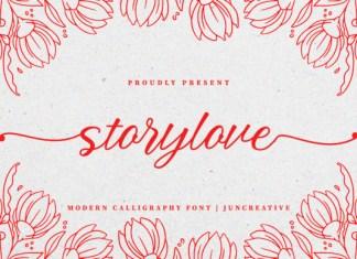 Storylove Font