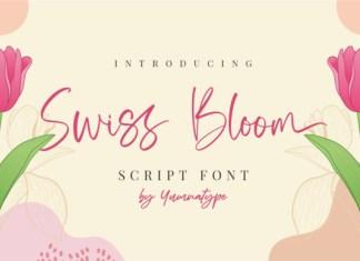 Swiss Bloom Font