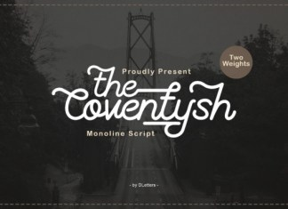 The Coventysh Font
