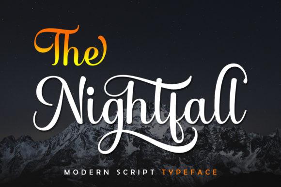 The Nightfall Font