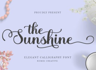 The Sunshine Font