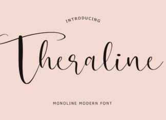 Theraline Font