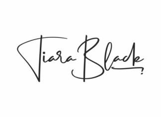 Tiara Black Font