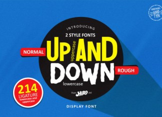 Up and Down Font