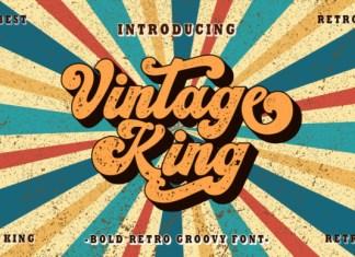 Vintage King Font