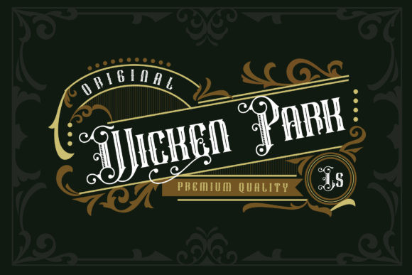 Wicken Park Font