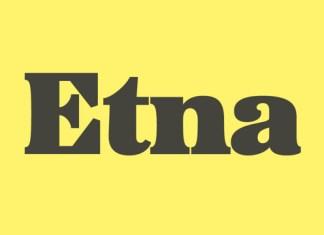 Etna Font