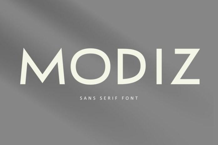 MODIZ Font