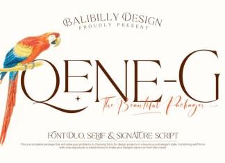 Qene-G Font