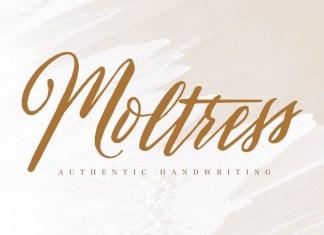 Moltress Font