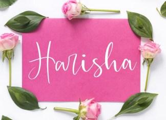 Harisha Font