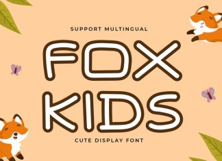 FOX KIDS Font