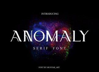 Anomaly Font