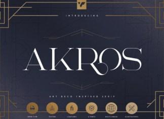 Akros Font