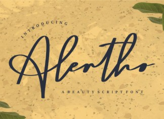 Alertho Font