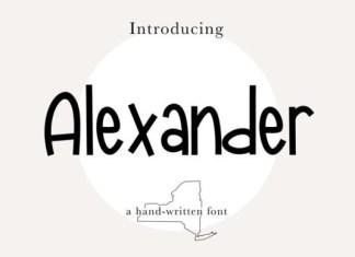 Alexander Font