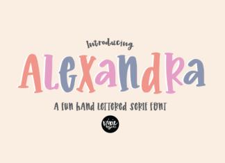 Alexandra Font