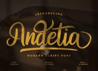 Andetia Font