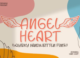 Angel Heart Font