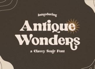 Antique Wonders Font