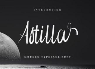 Astilla Font