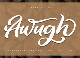 Awugh Font