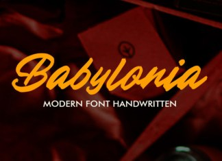 Babylonia Font