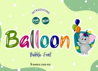 Ballon Font
