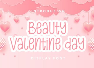 Beauty Valentine Day Font