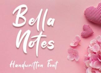 Bella Notes Font