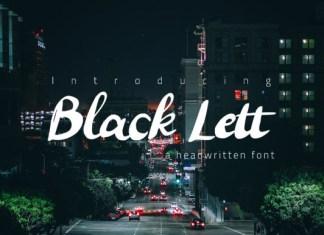 Black Lett Font