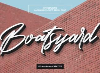 Boatsyard Font