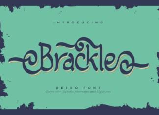 Brackle Font