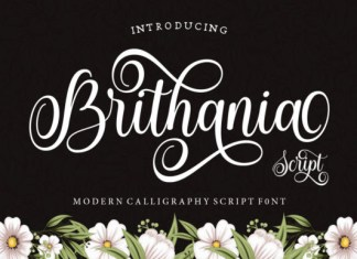 Brithania Font