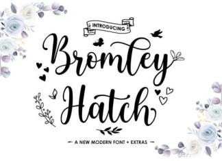 Bromley Hatch Script Font