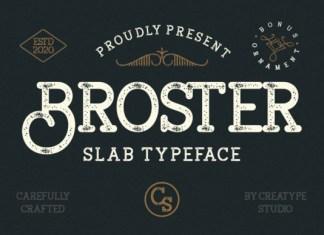 Broster Font