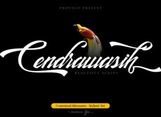 Cendrawasih Font