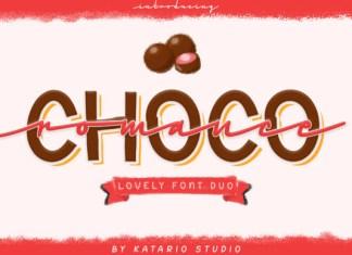 Choco Romance Font