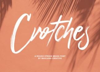 Crotches Font