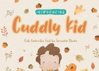 Cuddly Kid Font