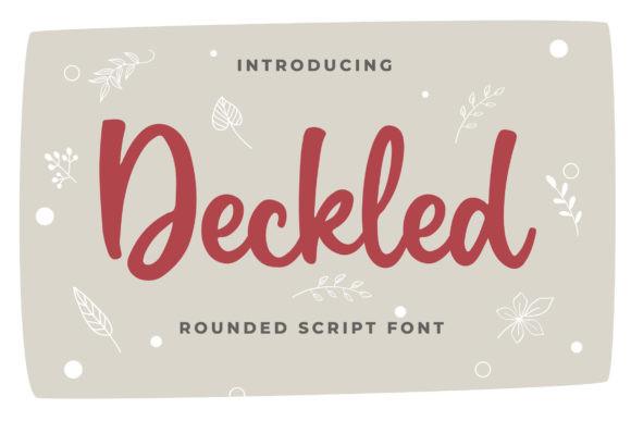 Deckled Font