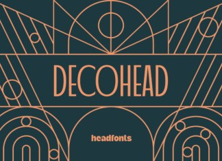 Decohead Font