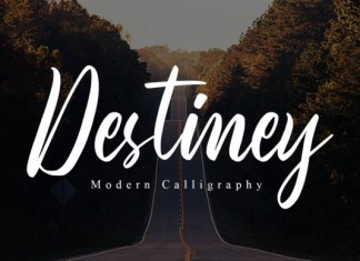 Destiney Font