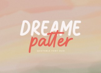 Dreame Patter Font