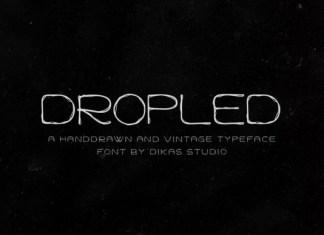 Dropled Font