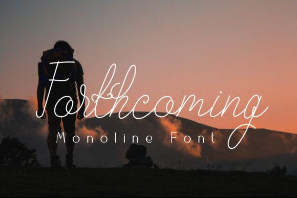 Forthcoming Font