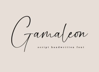 Gamaleon Font