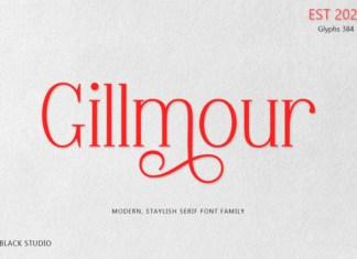 Gillmour Font