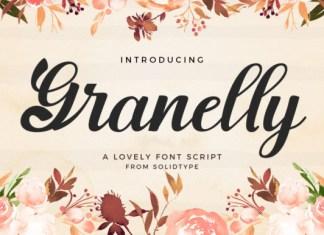 Granelly Script Font